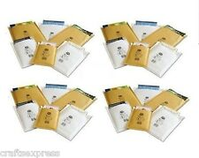 JL0 - Jiffy Aircraft Bags - 140mm x 195mm Padded Envelopes Gold & White