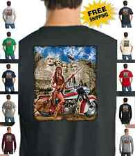 Biker Sturgis Ride Custom Chopper Classic Indian Motorcycle New Mens T Shirt