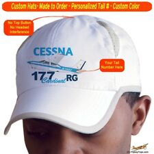 Cessna 177 Cardinal RG Cap Custom Airplane Pilot Hat - Personalized with Your N#