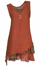 NWT Pretty Angel Clothing Apparel Two Piece Knit Top In Rust S M L XL 69802