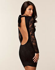 New HONOR GOLD Lace BNWT £55 Backless Halterneck Bodycon Party Club Prom Dress