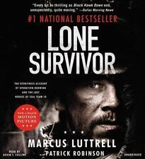 [CD] Lone Survivor By Luttrell, Marcus/ Robinson, Patrick (CON)/ Collins, Kev...
