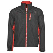 Slazenger Mens WP Jacket Golf Waterproof Pockets Full Zip Long Sleeves