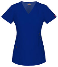 Dickies Scrubs Short Sleeve Top 85956 GBLZ Galaxy Blue Free Shipping