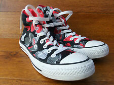 Converse CT All Star Hi Top Patterned Canvas Trainers Size UK 7 EUR 40