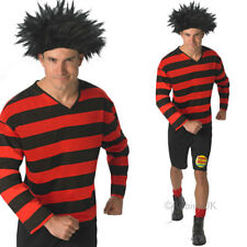 Adult Dennis the Menace Costume – Cartoon Fancy Dress Dennis Menace Classic