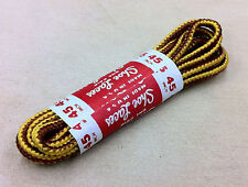 (2 Pairs) Shoe Boot Laces Golden Tan  Timberland Strings Shoelaces ALL SIZES