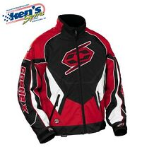 CASTLE X Men's Red SWITCH-12 Winter Snowmobile Jacket 72-801_