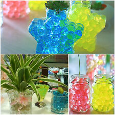 Jelly Crystal Mud Soil Water Beads Flower Plant Magic Ball Wed 5/10/20/50 Bags