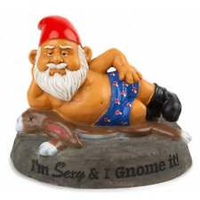 Novelty Naughty Garden Gnomes Outdoor Decoration Statues Ornaments Funny Gift