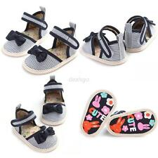 Infant Kids Baby Girl Soft Sole Crib Toddler Newborn Shoes 0-18 Months Anti-Slip