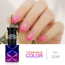 8ML Soak off Temperature Change Color Gel  Polish UV Led Lamp Nail Art  Varnish