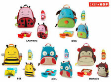 SKIP HOP ZOO BACKPACK BAG + INSULATED LUNCHIE + LUNCH BOX + DRINK BOTTLE SET
