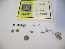 IWC 75,76 ASSORTED NEW OLD STOCK MOVEMENT PARTS