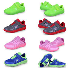 New Boys Girls Mesh Breathable Shoes Sneakers Velcro Soft Bottom Casual Shoes