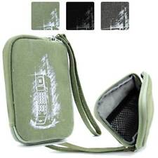 Digital Camera Protective Zipper Canvas Pouch Case FSLMRV-12