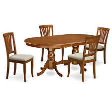 5 PC dining room set-dining table with 4 kitchen chairs