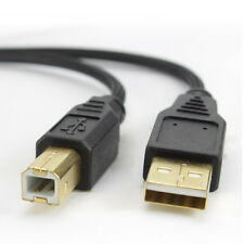USB2.0 Braided Hi-Speed 480Mbps Printer Scanner Cable for HP,Canon,Lexmark,Epson