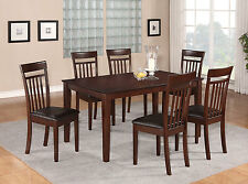 5 Piece dining table set for 4 Set - Dining room table and 4 Dining Chairs