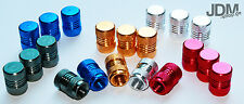Aluminium Valve caps anodised 4 Pieces Eloxate colours Tire Rims Tuning