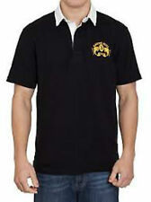 Raging Bull Signature short sleeved Rugby Shirt Black or Navy