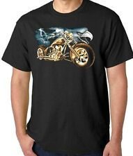 New Eagle & Motorcycle Biker T-Shirt All Sizes & Colors (29)