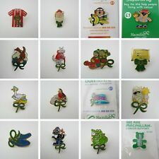 Macmillan Cancer Support Charity Pin Badges Enamel Various Designs Donation Made