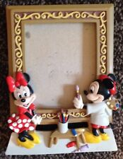Disney Minnie Mickey Mouse Photo Frame Artists Painting Portrait