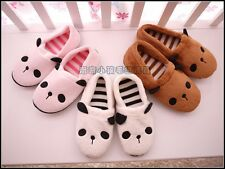 Soft Adorable Warm Panda Carton Indoor Anti-slip Slippers for Men/Women