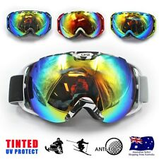 Men Professional Double Lens skiing Snowboard Mirror Anti-Fog Ski Goggles Glasse
