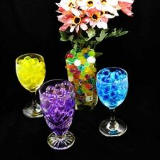 6000pcs Colorful Water Plant Flower Jelly Crystal Soil Mud Gel Pearl Beads Balls