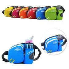 Sport Running Water Bottle Waist Belt Bum Bag Fanny Pack Hiking Marathon Pouch