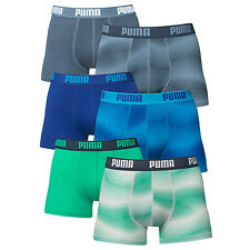 PUMA Mens Luxury Stardust Soft Cotton Boxer Shorts - Pack of 2