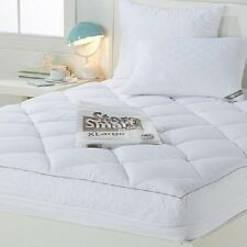 Concierge Collection Mattress Pad and Pillows with Compression Bag