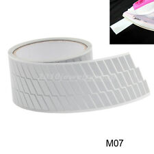 """Safety Silver Reflective Tape Fabric Iron On Material Heat Transfer 2"""" M07"""