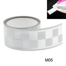 """Safety Silver Reflective Tape Fabric Iron On Material Heat Transfer 2"""" M05"""