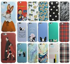 New Cute Cartoon Pattern Ultra Thin Hard Back Phone Case Cover Skin For Iphone