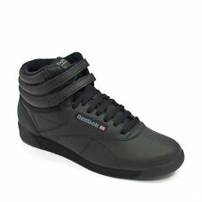 2240_Reebok Shoes – Freestyle Hi black/black/black_2016_Women_Leather_Nuevo