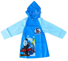 NEW KIDS RAINCOAT HOODIE COVER DRESS JACKET BOYS THOMAS AND FRIENDS OUTWEAR