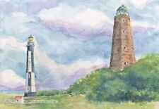Cape Henry Lighthouses Virginia Notecards