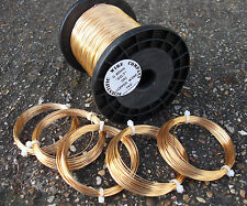 NON - TARNISH GOLD COLOURED Copper Wire / 8 sizes to choose from HIGH Quality