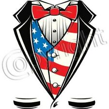 American Flag Tuxedo Shirt T Shirt & Tank Tops All Sizes & Colors (859)