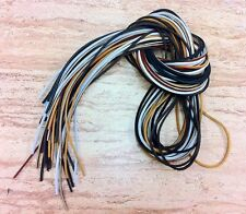 "(1 Pair) 40"" Rawhide Leather Shoe Boot Laces Shoelaces 1/8"" Width Timberland"