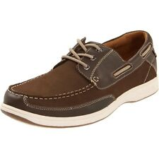 Florsheim Men Casual Shoes Lakeside Ox Boat Shoes Brown