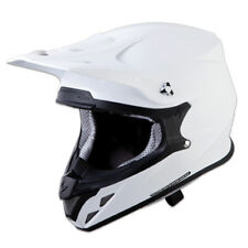 Scorpion Adult White VX-R70 Solid ECE/DOT Off-Road Dirt Bike Helmet