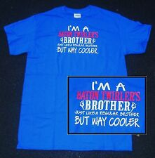 BATON TWIRLER'S BROTHER T SHIRT ROYAL BLUE BROTHER OF BATON TWIRLER CHILD/ADULT