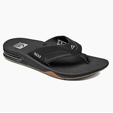 REEF FANNING THONGS BLACK ICE Size 7, 8, 9, 10, 11, 12, 13