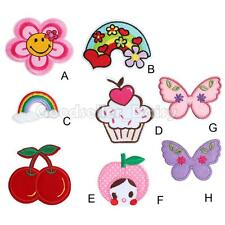 New Cartoon Pattern Embroidered Iron On Patch Sew Motif 1PC Applique Accessories