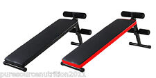 AB Sit Up Bench Abdominal Crunch Fitness Workout Home Gym Exercise Folding