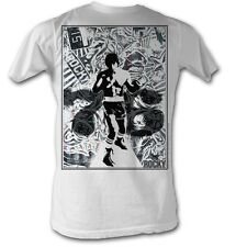 Rocky T-shirt 76 Collage Classic Adult White Tee Shirt